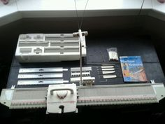 Brother Knitting Machine KX 395 Convertible Home Knitter |