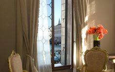 Camera doppia Prestige con vista sul Canal Grande