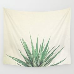 Haworthia Wall Tapestry by Cassia Beck | Society6