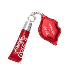 Lip Smacker Coca-Cola Refresh Lip Gloss with Keychain, 1.09 oz