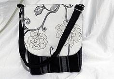 Designer fabric crossbody bag Adjustable shoulder strap ** Check out this great article. #Handmadehandbags