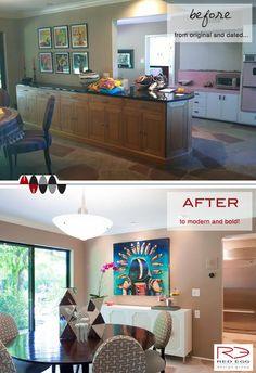 Red Egg Design Group's Dining Room Transformation