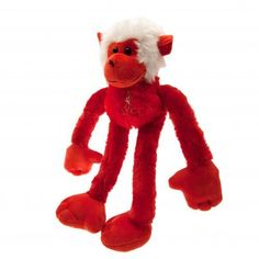 Super cute plush Liverpool FC monkey with the club crest on the body and dressed…