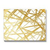 """Found it at Wayfair - """"Gold Stokes"""" Khristian Howell Graphic Art Gallery Wrapped on Canvas"""