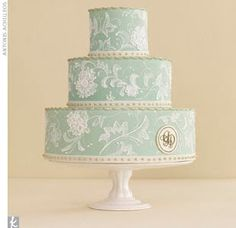 Lovely royal icing embroidery