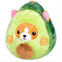 Corgi Plush, Corgi Dog, Avocado Costume, Cute Plush, Undercover, Baby Accessories, Plushies, Cuddling, Baby Kids