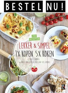Lunch wrap tips - Lekker en Simpel Lunch Wraps, Sandwiches For Lunch, Sweet Chili, Macaron, Everyday Food, High Tea, Italian Recipes, Feta, Gourmet