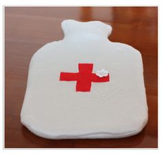 hot water bottle cover. I like the Red Cross .
