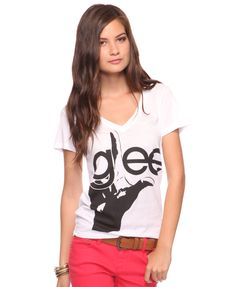 GLEE! Yes I want this shirt!!