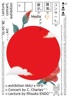 """"""" Ce qui me plaît : Le symbole du Japon pa. Dm Poster, Poster Design, Poster Layout, Graphic Design Posters, Typography Poster, Graphic Design Typography, Graphic Design Inspiration, Graphic Design Illustration, Print Poster"""