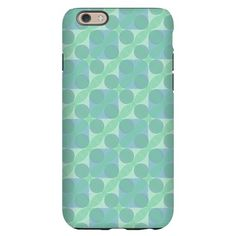 iPhone 6 Slim Case with pattern Transparent Light Green (pattern #3024)