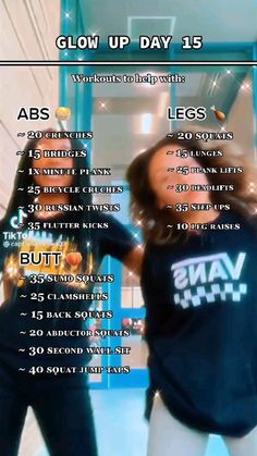 Gym Workout Videos, Body Workout At Home, Gym Workout For Beginners, Fitness Workout For Women, At Home Workout Plan, Butt Workout, Summer Body Workouts, Fun Workouts, Slim Waist Workout