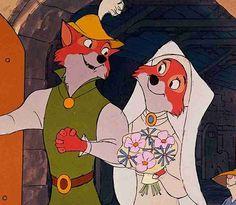 *ROBIN HOOD & MAID MARIAN ~ Robin Hood (The Wedding)...View Full-Size