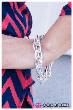 Silver bracelet from Paparazzi Jewelry