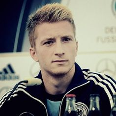 Marco Reus is a German professional footballer, who plays as an attacking midfielder, winger or striker for Borussia Dortmund and Germany. Reus is known for his versatility, speed and technique. Wikipedia Born: 31 May 1989 (age 28), Dortmund, Germany Height: 1.8 m Weight: 75 kg Salary: 4 million EUR (2012) Current teams: Borussia Dortmund (#11 / Midfielder, Forward), Germany national football team (Midfielder, Forward) Nationality: West German, German