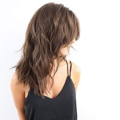 Layered With Bangs
