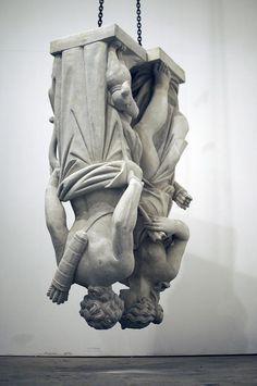 Jonathan Schipper is an artist specializing in large scale event based conceptual sculpture. Modern Sculpture, Sculpture Art, Modern Art, Contemporary Art, Carpeaux, Instalation Art, Figurative Art, Creative Inspiration, Sculpting