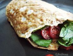 Low Carb Egg White Wrap