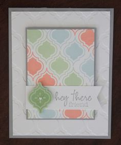 Mosaic Madness in soft colors: Amazing talent with the Stamp a ma jig