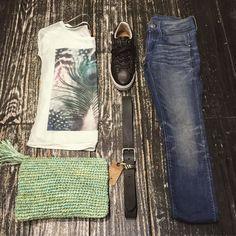 Top-#CatwalkJunkie Bag-#HouseOfSakk Shoes-#Blackstone Jeans-#Gstar Belt-#Legend #jeansenlifestyle #houten