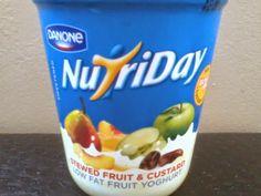 Many fruit yogurt
