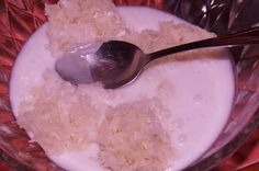 Klebreis-Kokoscreme