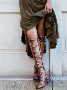 Penny Lane Tall Boot | Lightweight tall suede wedge boots featuring colorful embroidery detailing and metal stud accents. These boots feature an inside side zip for an easy on-off and elastic band at the opening for an effortless fit.