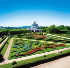 Kroměříž a cidade dos jardins na República Tcheca