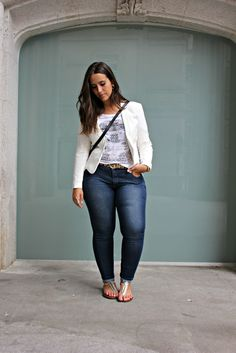 Casual Plus Size Outfits, Curvy Girl Outfits, Curvy Girl Fashion, Casual Fall Outfits, Look Fashion, Plus Size Fashion, Fashion Outfits, Fashion Clothes, Look Plus Size