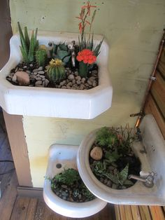 repurpose my vintage kitchen sink into a planter??  love the idea but need to explore