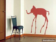Wall Stickers Dali Elephant