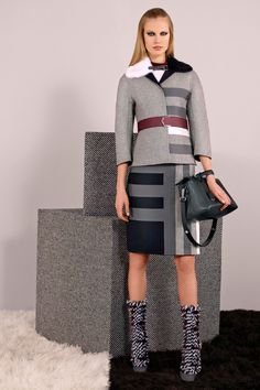 Fendi Pre-Fall 2014 Fashion Show - Elisabeth Erm London Fashion Weeks, Fall Winter 2014, Autumn Winter Fashion, Fendi, Runway Fashion, Fashion Show, Fashion Design, Fall Collection, Lookbook