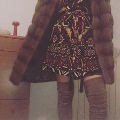 Dress Gucci cuissard Gucci fur Simonetta ravizza