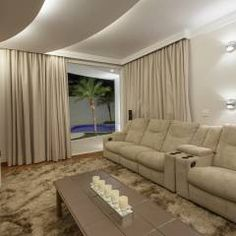 Casa Buriti: Salas multimídia Moderno por Arquiteto Aquiles Nícolas Kílaris
