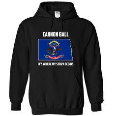 Cannon Ball, North Dakota It's Where My Story Begins T-Shirts, Hoodies. Get It…