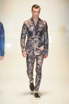 Men's Spring 2014 Trends | Gucci men's spring / summer 2014 runway show was unveiled on one of ...