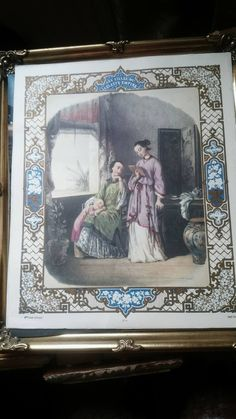 Japan. Les Filles du Céleste Empire. 1870. Chromolithograph by Anaïs Colin.Nr 6 .Litography,The Daughters of the Celestial Empire, by MagdalenaMagic on Etsy