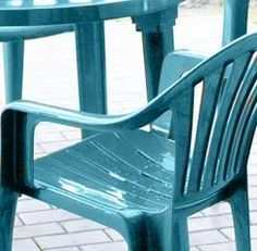 Painting Plastic Furniture the Right Way - Painted Furniture Ideas