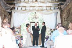 Barn Wedding Rustic Michigan Wedding Michigan Photographer Red Wood Barn of Armada Wedding Ceremony
