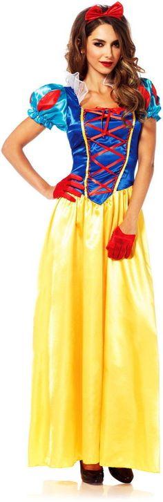 Disney's Snow White Movie Lace Up Bodice Dress Princess Costume Adult Women #LegAvenue #CompleteCostume