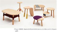 「くまのプーさん」をモチーフにした家具 Winnie the Pooh テーブルコレクション発売 | Leaddy (リーディー)