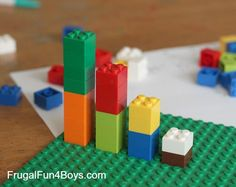 Fractions with Legos