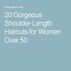 20 Gorgeous Shoulder-Length Haircuts for Women Over 50 - Haircuts 2017 Over 50, Shoulder Length Hair, Haircuts, Wordpress, Hair Styles, Pretty, Nice, Women, Hair Plait Styles