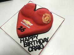 Manchester United boobie cake