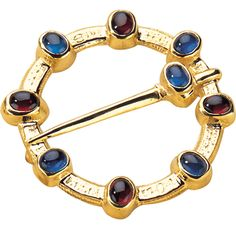 This best-selling brooch is engraved on the reverse with an old French inscription. British Museum shop