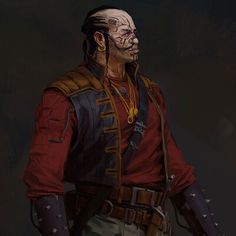 ArtStation - Space Pirate, giorgio baroni Character Portraits, Character Art, Character Design, Star Wars Characters, Fictional Characters, Space Fantasy, Dungeons And Dragons Homebrew, Space Pirate, Traditional Paintings