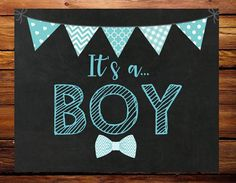 Congrats on baby!  Ready to announce your babys gender? Its a boy gender reveal chalkboard sign is perfect to help with your BIG announcement. Please note this is a digital download, nothing physical will be mailed. You can print this sign up to 20x16 size!  *Wood backdrop is not part of the sign. Instantly download a high resolution JPEG and PDF file upon purchase. You can get this sign printed on cardstock or photo paper anywhere you typically get these services.