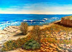 GALERIA PALOMO MARIA LUISA: Mar del sud agreste Golf Courses, Painting, Art, Painting Art, Paintings, Kunst, Paint, Draw, Art Education