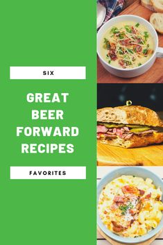Recipe Savants 6 Great Beer Forward Recipes In 2019 Busy Mommy Macaroni And Cheese, Cheese Soup, Mac Cheese, Side Dish Recipes, Gourmet Recipes, Cranachan Recipe, European Cuisine, Apples And Cheese, Dessert Dishes