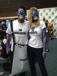 They Live cosplayers